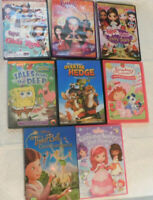 8 Different Movies Kids Love (DVD'S) Take A Look!