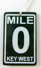 Mile 0 Sign Christmas Ornament Wooden Tree Decoration Hand Painted Key West Mile