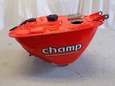 81 Yamaha LC 50 Champ Original Red Gas Tank ~FastFreeShip~A