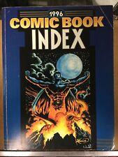 1996 Alternate Concepts Comic Book Index Johnny Lauck Chas Gillen John Barrett