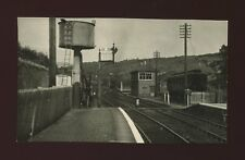 Railway Wales Merioneth DOLGELLAU Station Signal Box Photograph 1952 128x75mm