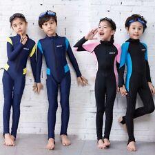 Bambini Bambini Lycra Muta Rash Guard Surf Abbigliamento Costume da bagno Costumi da bagno caldo