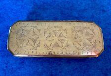 Brass Table Snuff Box, Dutch