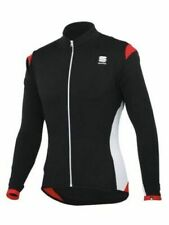 Sportful Flight Long Sleeve Breathable Thermal Cycling Jersey / Jacket Med Black
