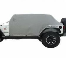 Smittybilt 07-17 Jeep Wrangler JK 4dr Cab Cover With Door Flap Water Resistant