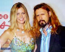 Sheri Moon & Rob Zombie  8 x 10 Autograph Reprint  House of 1000 Corpses Slither