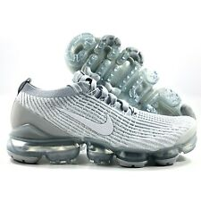 Nike Air Vapormax Flyknit 3 Triple White Pure Platinum AJ6900-102 Men's 8-12.5