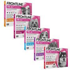 Frontline¹TRI ACT perro 3 pipetas pulgas garrapatas flebotomos de varios tamanos