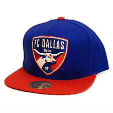 FC Dallas Mitchell & Ness MLS XL Logo 2 Tone Snapback Hat