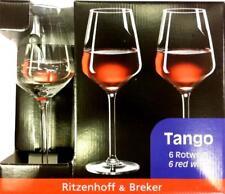 R&B Ritzenhoff & Breker Rotweingläser Tango 38cl 6 Stück Weinglas NEU OVP!