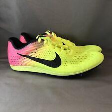 best website cd2f4 50bed Men s Nike Zoom Matumbo 3 OC Volt Track Spikes Shoes Volt Pink Sz 4 882014-