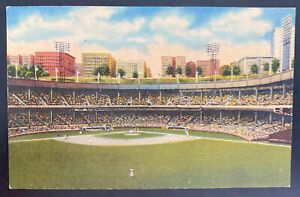 1950 New York USA Color Picture Postcard Cover To Ft Scott Polo Grounds
