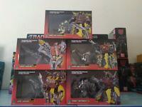 TRANSFORMERS G1 Reissue Dinobots set Grimlock/Swoop/Slag/Snarl/Sludge IN STOCK