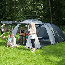 skandika Bergen 4 Man Dome Igloo Tent 3000mm Water Column Camping Grey New