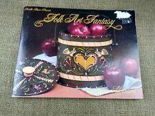 Decorative Painting Pattern & Instruction Book Folk Art Fantasy Joyce Morrison