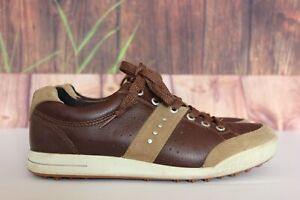 Ecco Brown Women's Size EU 40 US 9-9.5 Spikeless Golf Shoes