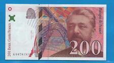 Gertbrolen  200 Francs EIFFEL Type 1996 Billet A047819194