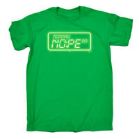Funny Novelty T-Shirt Mens tee TShirt Moday Am Nope Glow In The Dark