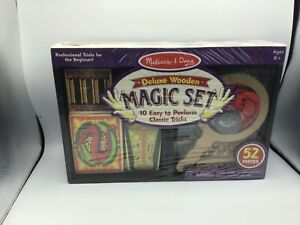 Melissa and Doug Magic Tricks for the Beginner Deluxe Set NEW SEALED