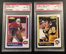 1986-87 OPC Hockey Complete Set (High Grade) Patrick Roy & Lemieux PSA 8 NM-MT