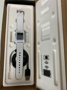Pebble Smart Watch Kickstarter Edition White boxed but unused