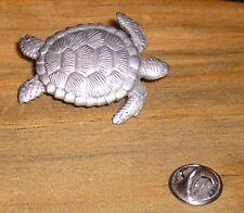 Sea Turtle Tortoise JJ Jonette 1.5 inch  Lapel Collar Hat Tac Pin Brooch