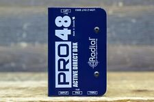 Radial Engineering Pro48 Active Direct Box High Performance Active Direct Box
