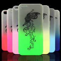 New Bumper Frame With Matte Skin Glow In The Dark Case Cover for iPhone 5G 5S