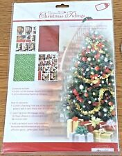#10 PAPERMANIA DECOUPAGE PAPER PACK..'CHRISTMAS TIDINGS' MAKES 8 CARDS  FREE P&P
