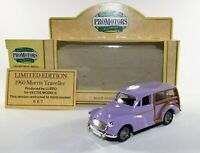 LLEDO Promotors Diecast 1960 Morris Traveller Purple Vectis models 667/1000