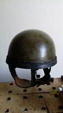 WW2 BRITISH AIRBORNE PARA HELMET ORIGINAL 1942 DATED BY BMB HSAT MK2