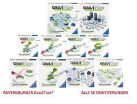 Ravensburger Gravitrax all 10 Extensions - Kugelbahnsystem New/Boxed
