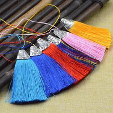 1/5Pcs Garment Tassel Key Chain Trim Pendant 8cm DIY Craft Accessories Bookmark