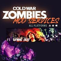 Cold War: Zombies Instant Dark Ather Camo, Max Gun Rank, Max Crystal, LVL 1000