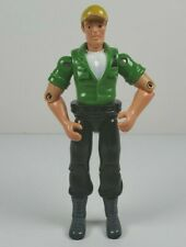 "Unbranded Green Shirt Race Worker Crew 4"" Action Figure No COO"