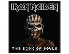 IRON MAIDEN the book of souls 2015 - WOVEN SEW ON PATCH official (sealed)