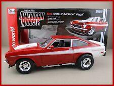 Baldwin Motion Vega (1971) in rot/weiss AutoWorld  Maßstab 1:18 OVP  NEU