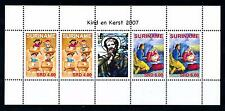 [SUV1490] Surinam 2007 Christmas Christ Children Miniature sheet with label MNH