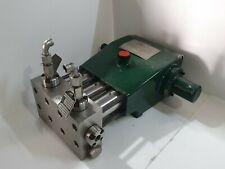 Aqua-Dyne EK 25 FF Hydrostatic Testing Pump, 22500 PSI Water Jet Triplex Pump
