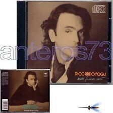 "RICCARDO FOGLI ""NON FINISCE COSI'"" RARO CD 1989 - POOH"
