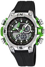 Calypso Uhr by Festina AnaDigi Herren K5586/3 schwarz grün 10 ATM