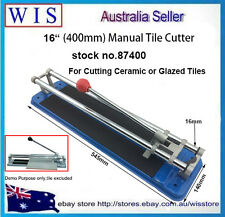 "16""(400mm)Manual Tile Cutting Machine Steel Base Plate,Economy Tile Cutter-87400"