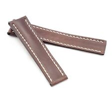 BOB Shell Cordovan Deployment Strap for Breitling, 20-22 mm, 3 colors, new!