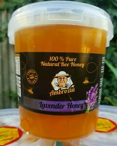 100%PURE LAVENDER HONEY 1.5 kg (honey is the same in the photos) 2021