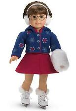 American Girl MOLLY'S SKATING OUTFIT with SKATES, MUFF & EARMUFFS ~NIB ~Retired