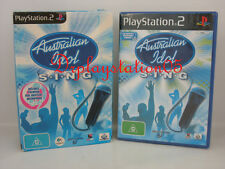 Australian Idol Sing PS2 New and Sealed 100% PAL Game( AUS ) With Usb Microphoe