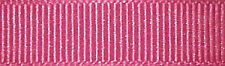 10mm Berisfords Shocking Pink Grosgrain Ribbon 20m Reel