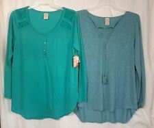 LADIES NWT LONG SLEEVED TOPS SIZE XXL (20)
