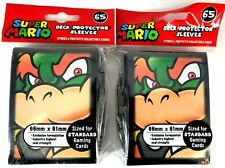 2 packs Ultra PRO Deck Protector Sleeves Super Mario Bowser