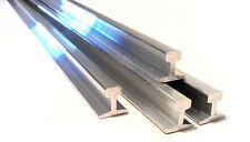 """16mm Aluminum Rail 2M length, suitable for  3 1/2"""", 5"""" & 7 1/4"""" gauge railways."""